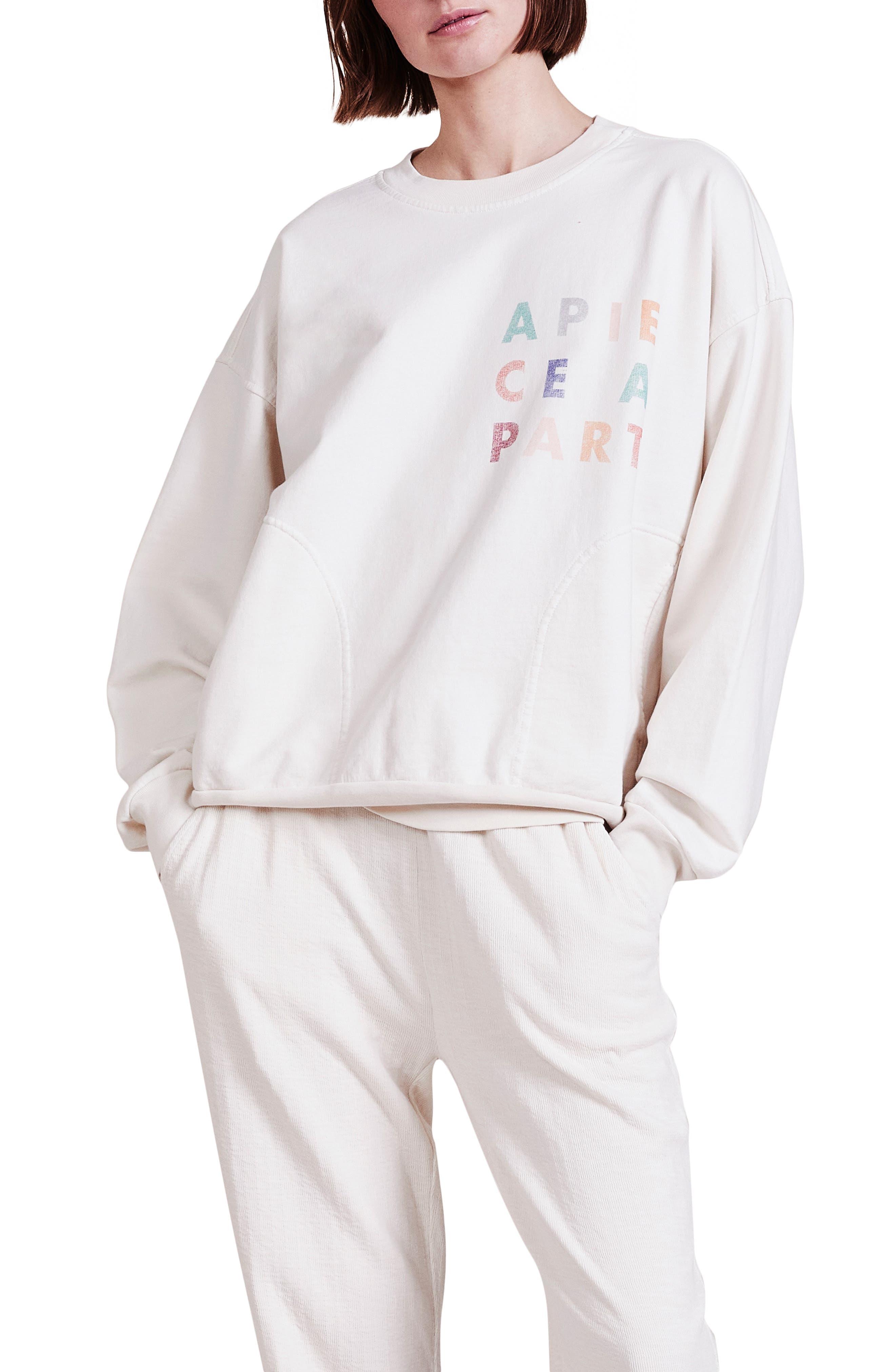 Aa Logo Organic Cotton Sweatshirt