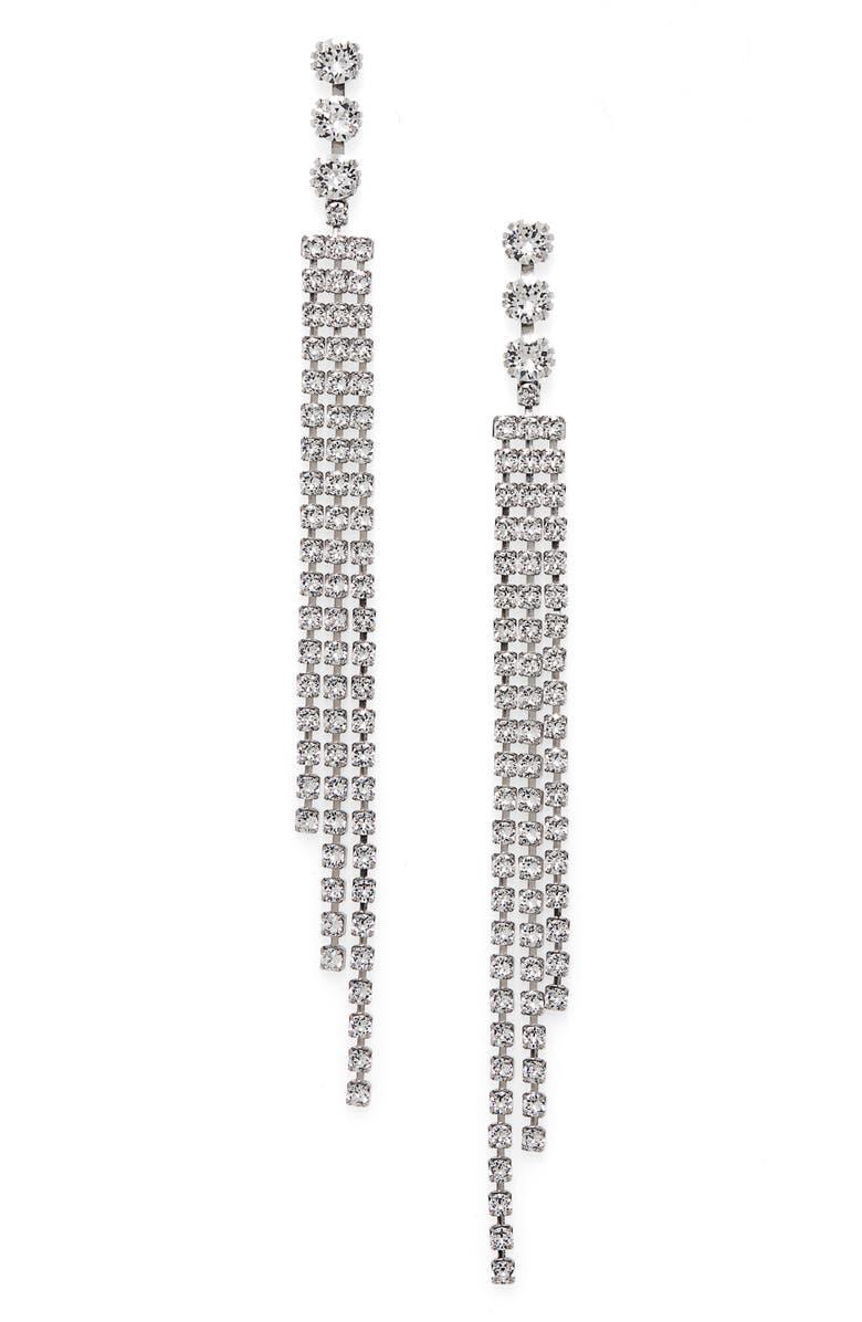 ISABEL MARANT Nile Earrings, Main, color, TRANSPARENT