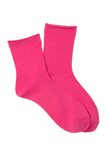 Image of Free People Dolci Sheer Crew Socks