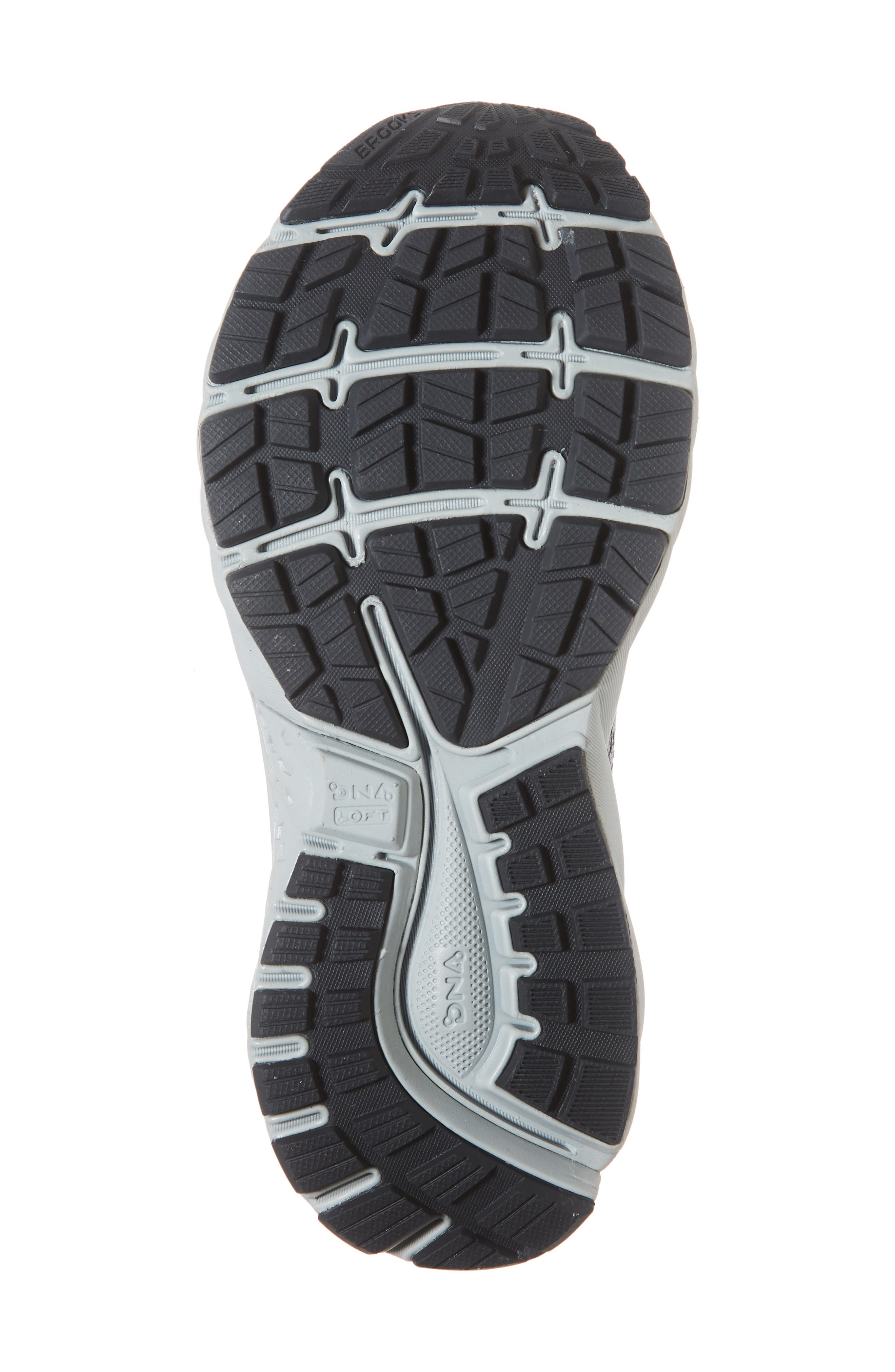 ,                             Ghost 11 Running Shoe,                             Alternate thumbnail 6, color,                             GREY/ SILVER/ WHITE