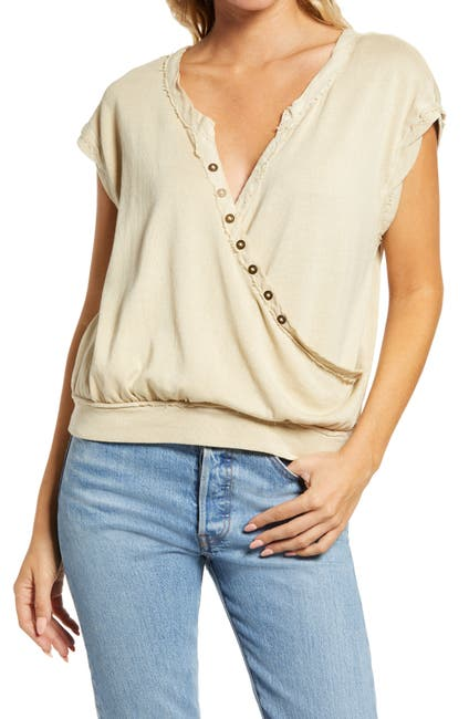 Image of Free People Wrap It Up Crop Top