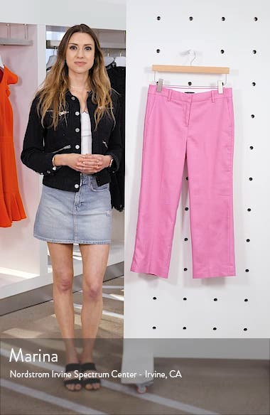 Peyton Linen Blend Wide Leg Pants, sales video thumbnail