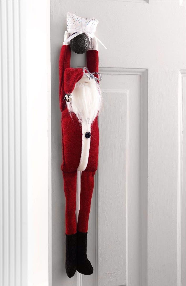 WOOF & POOF, INC. Woof & Poof Angel Door Hanger, Main, color, RED
