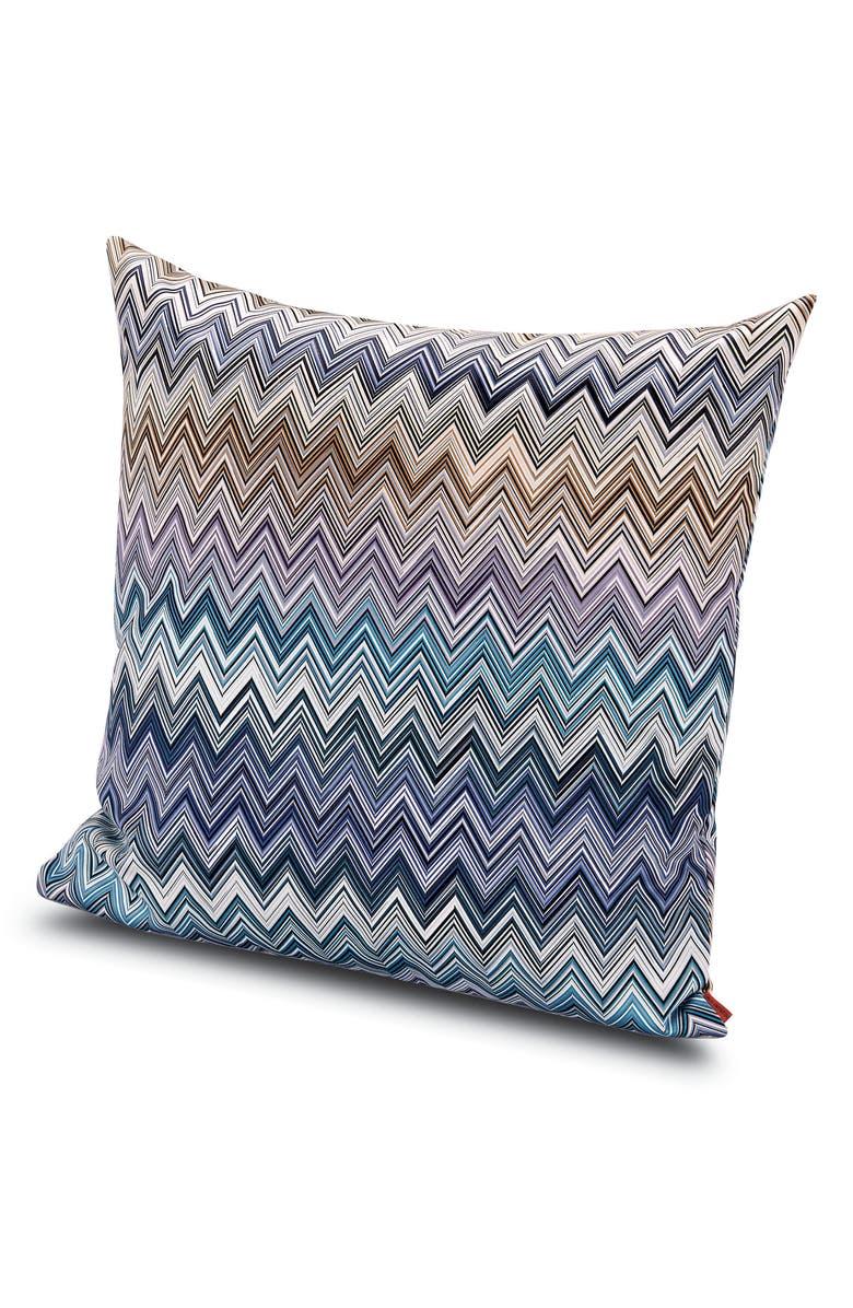 MISSONIHOME Jarris Chevron Accent Pillow, Main, color, 400