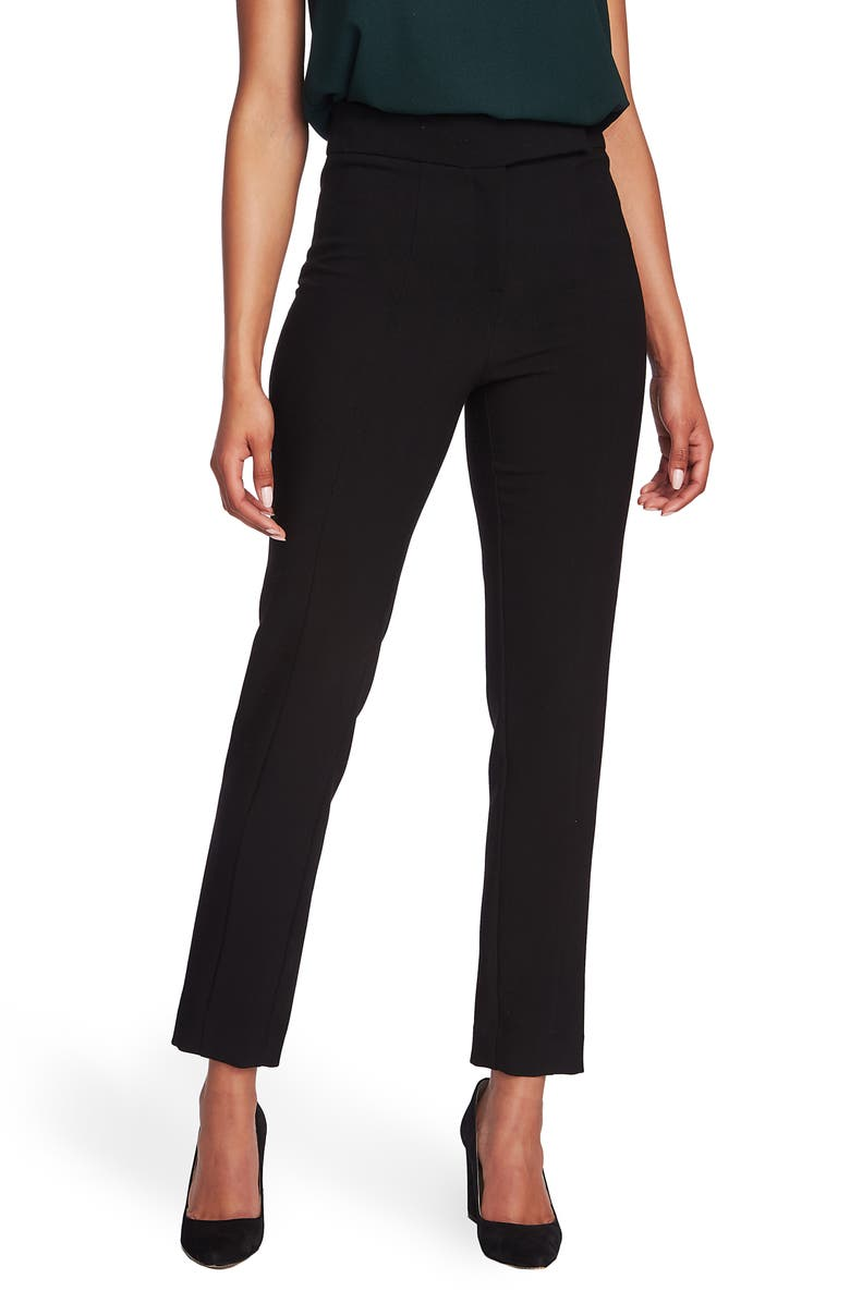 1.STATE Straight Leg Crepe Pants, Main, color, 006