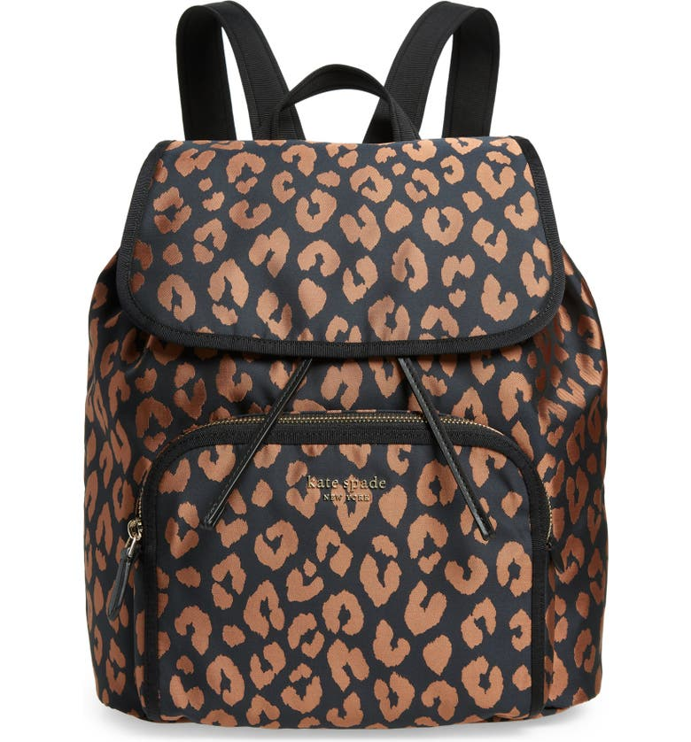 KATE SPADE NEW YORK the little better sam backpack, Main, color, BLACK MULTI