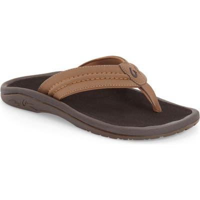 Olukai Hokua Flip Flop, Brown