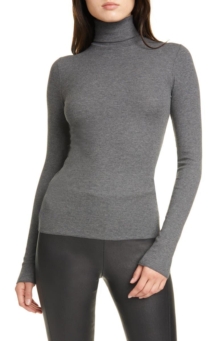 POLO RALPH LAUREN Turtleneck Sweater, Main, color, BARCLAY HEATHER