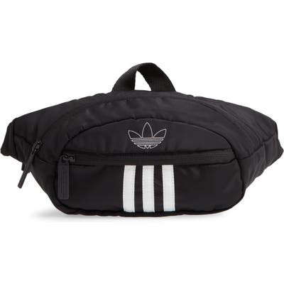 Adidas National 3-Stripes Belt Bag - Black