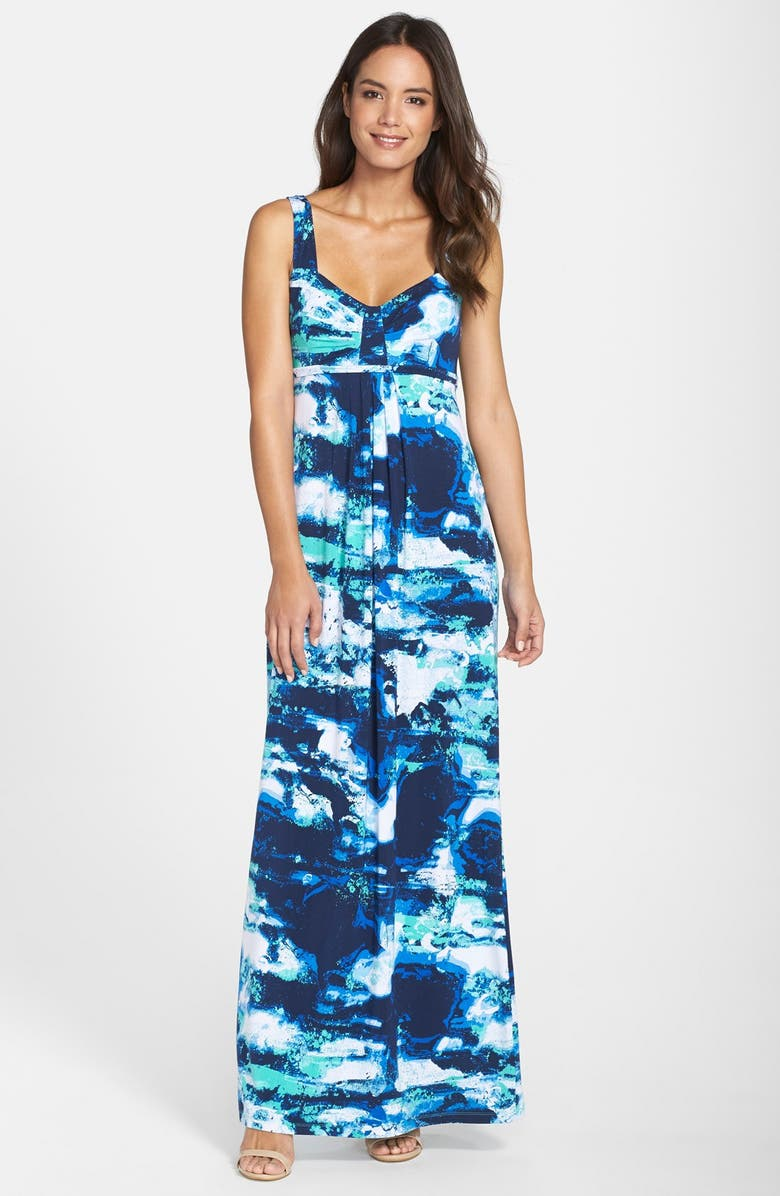 f42f6e940 'Lynelle' Print Jersey Maxi Dress, Main, color, ...
