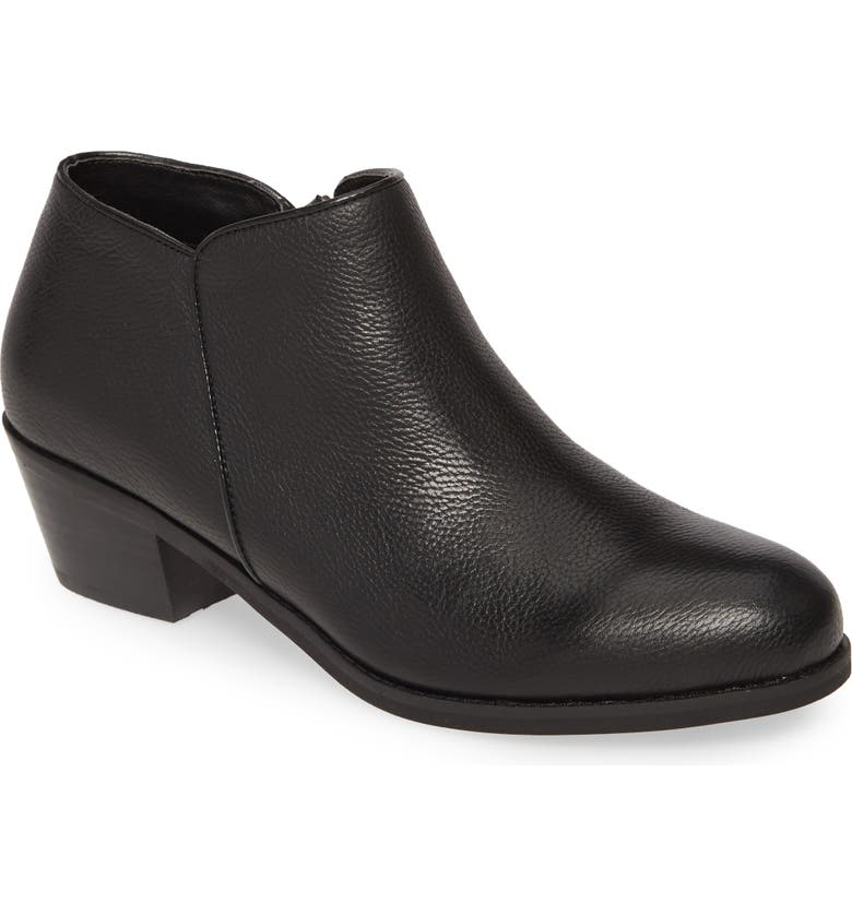 AETREX Laurel Bootie, Main, color, BLACK LEATHER