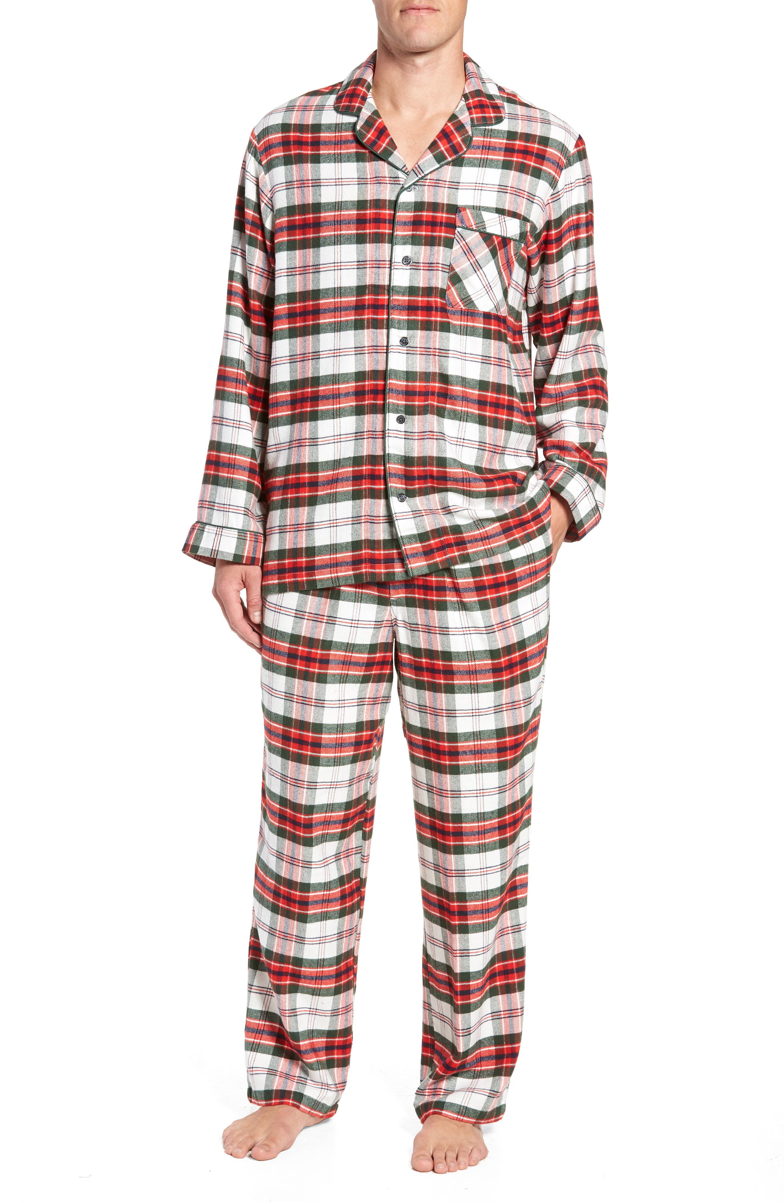 ,                             Family Father Flannel Pajamas,                             Main thumbnail 14, color,                             900