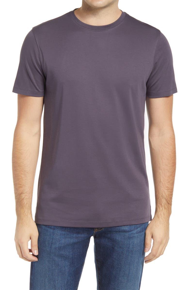 ROBERT BARAKETT Georgia Crewneck T-Shirt, Main, color, WINTER PURPLE
