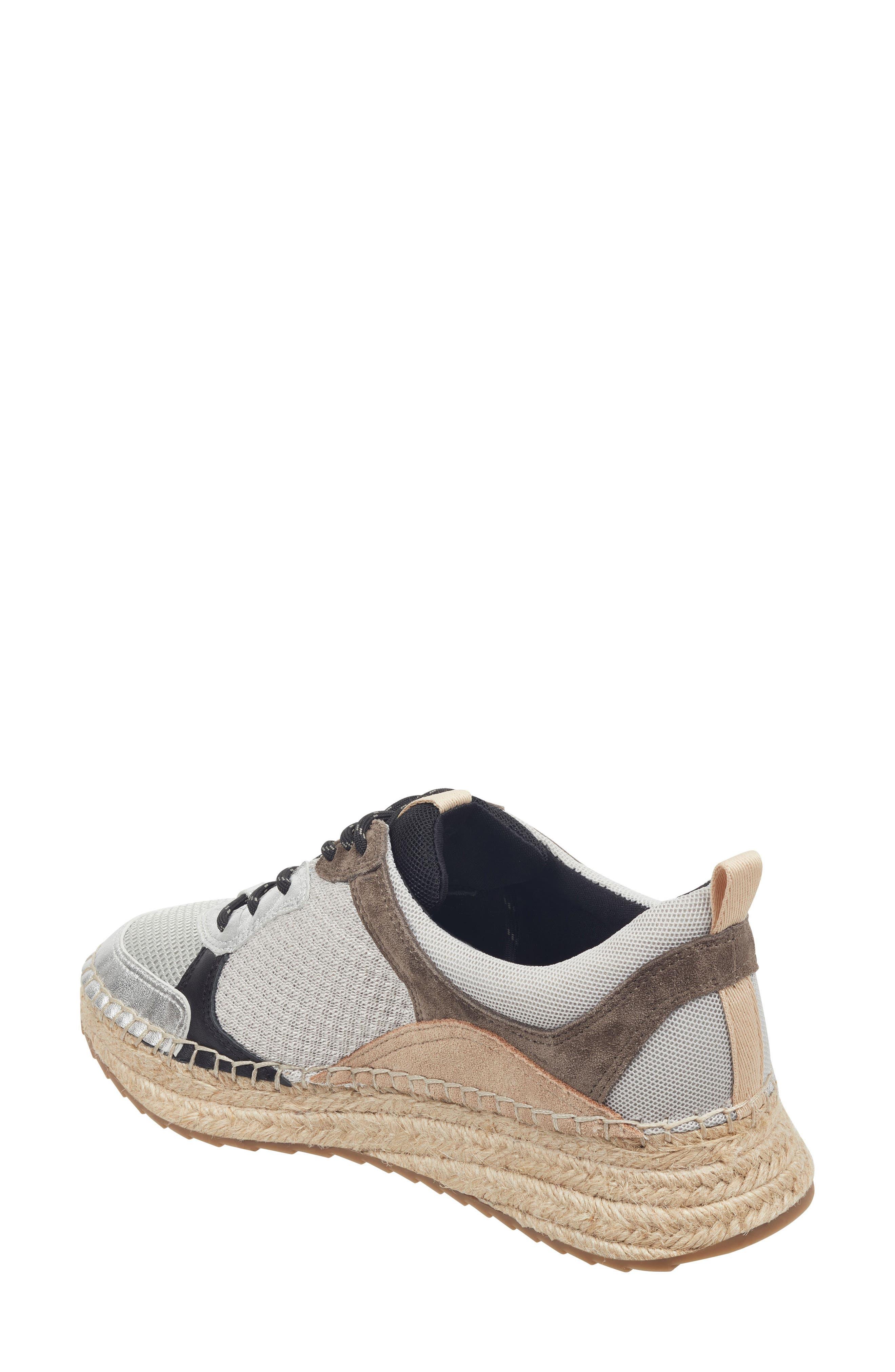 ,                             Janette Espadrille Sneaker,                             Alternate thumbnail 9, color,                             100