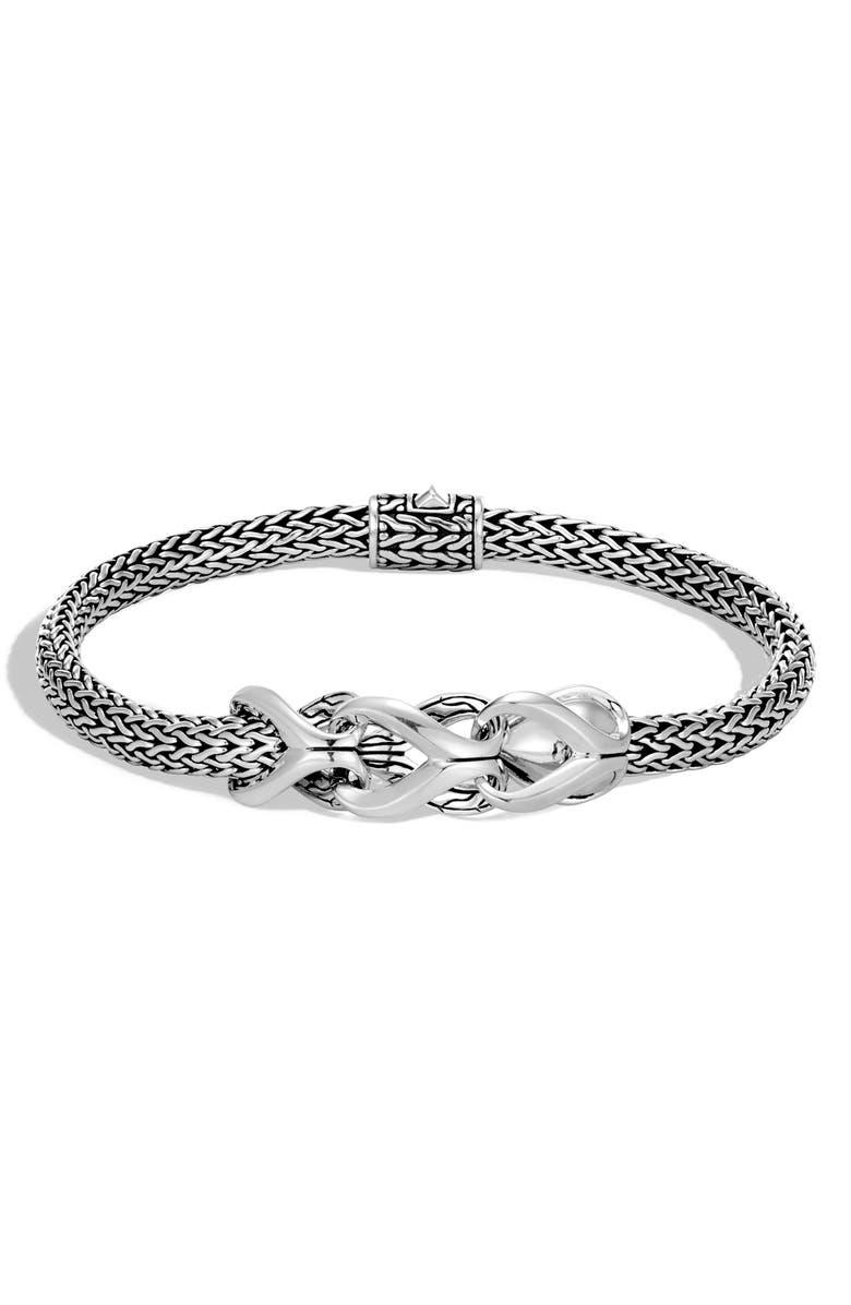 JOHN HARDY Classic Chain Bracelet, Main, color, SILVER