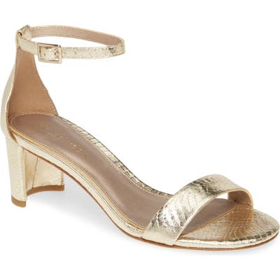 Pelle Moda Monroe Sandal, Metallic