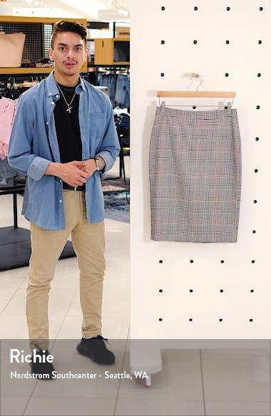 Glen Plaid Pencil Skirt, sales video thumbnail