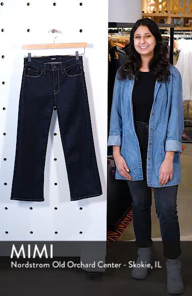 Stella Crop Straight Leg Jeans, sales video thumbnail