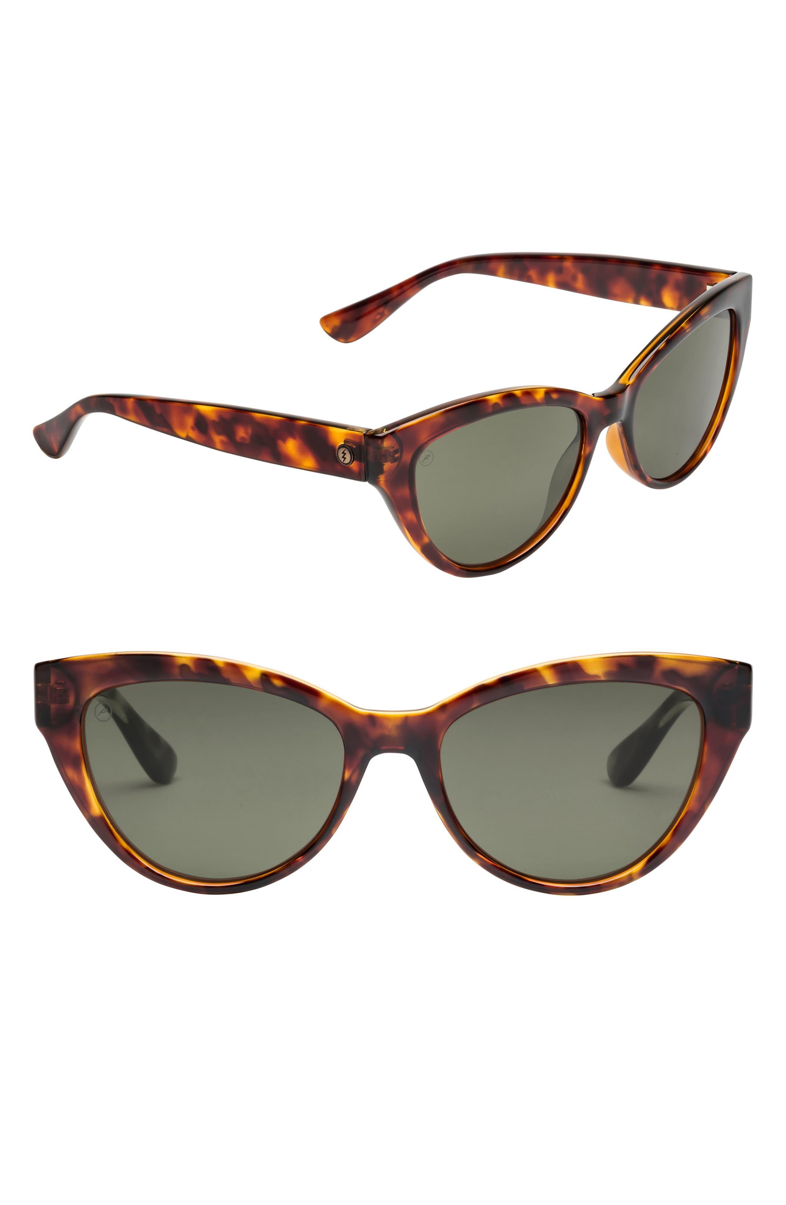 Indio 58mm Polarized Cat Eye Sunglasses