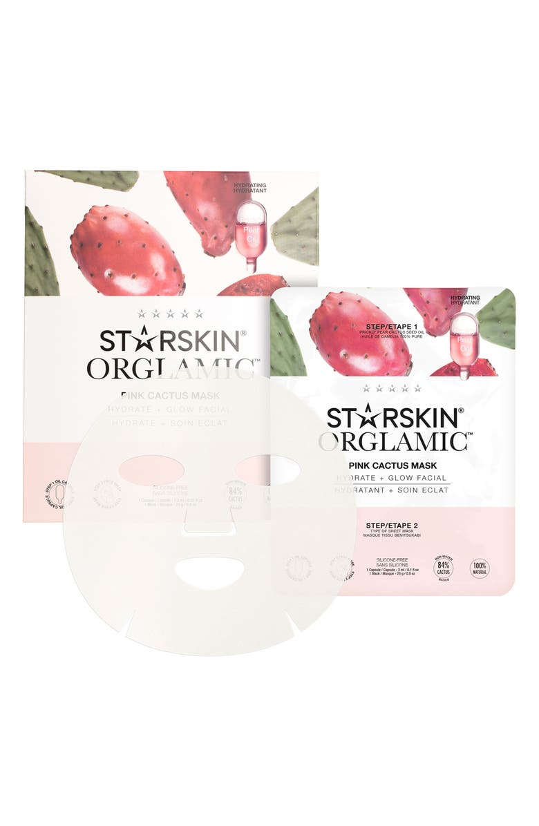 STARSKIN <sup>®</sup> Pink Cactus Mask, Main, color, NO COLOR