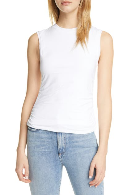 Atm Anthony Thomas Melillo RUCHED MUSCLE TEE
