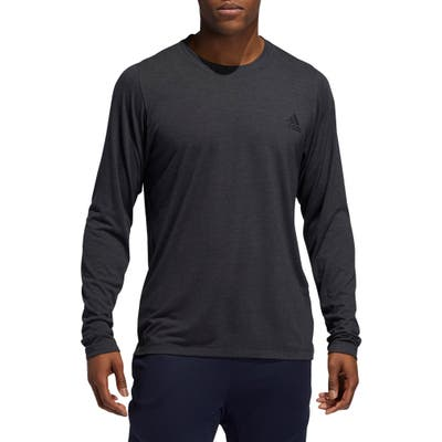 Adidas Freelift Long Sleeve T-Shirt, Grey