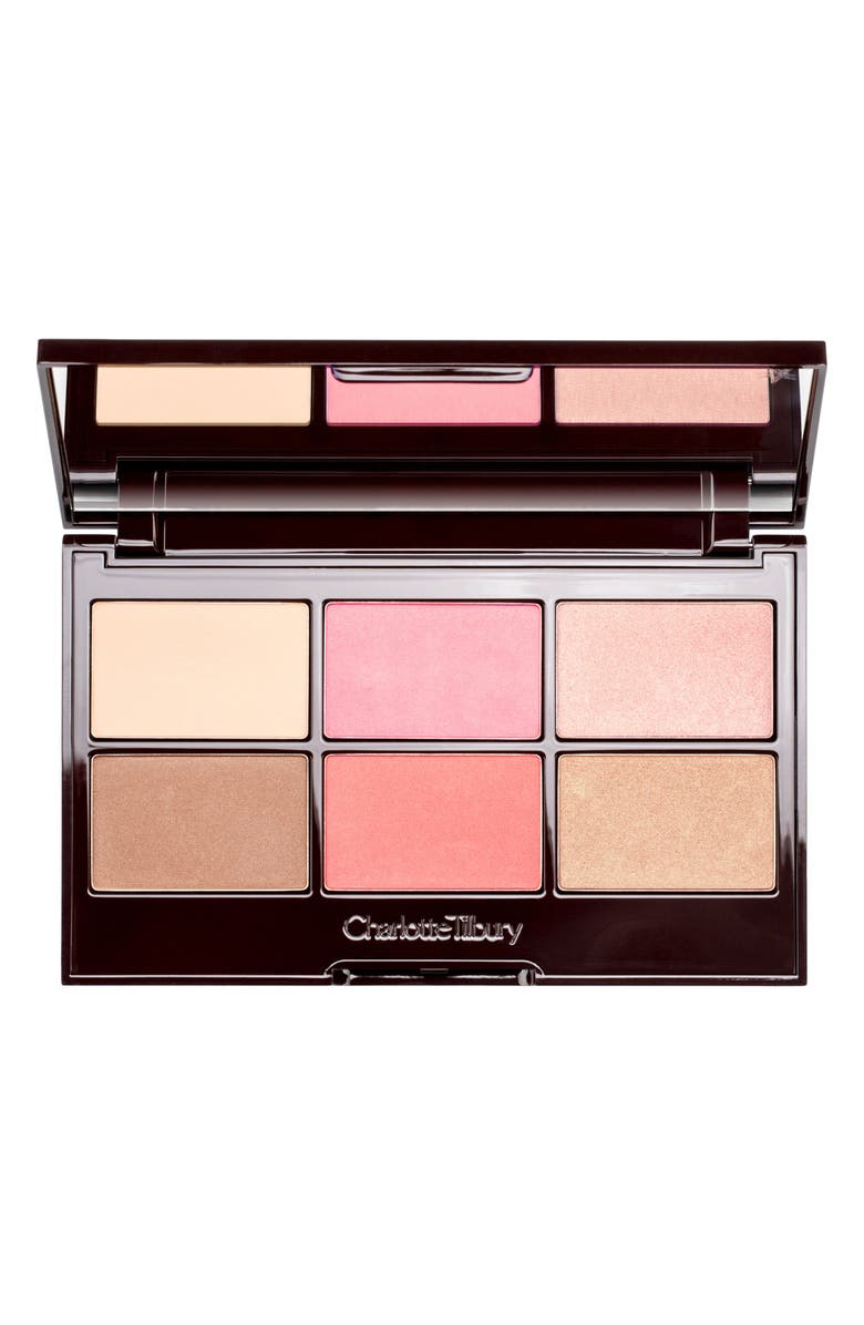 CHARLOTTE TILBURY Pretty Glowing Skin Palette, Main, color, 000