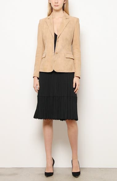 Two-Button Suede Jacket, video thumbnail