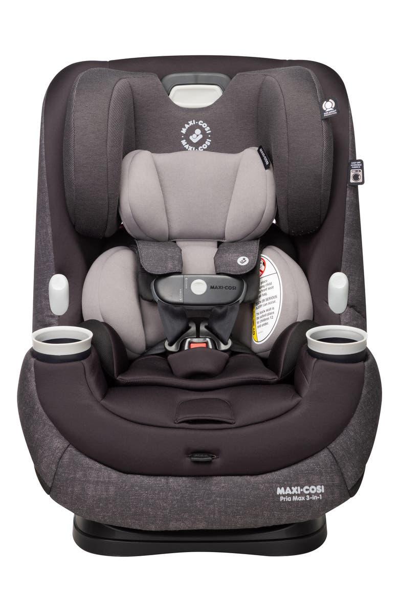 MAXI-COSI<SUP>®</SUP> Pria<sup>™</sup> Max 3-in-1 Convertible Car Seat, Main, color, NOMAD BLACK