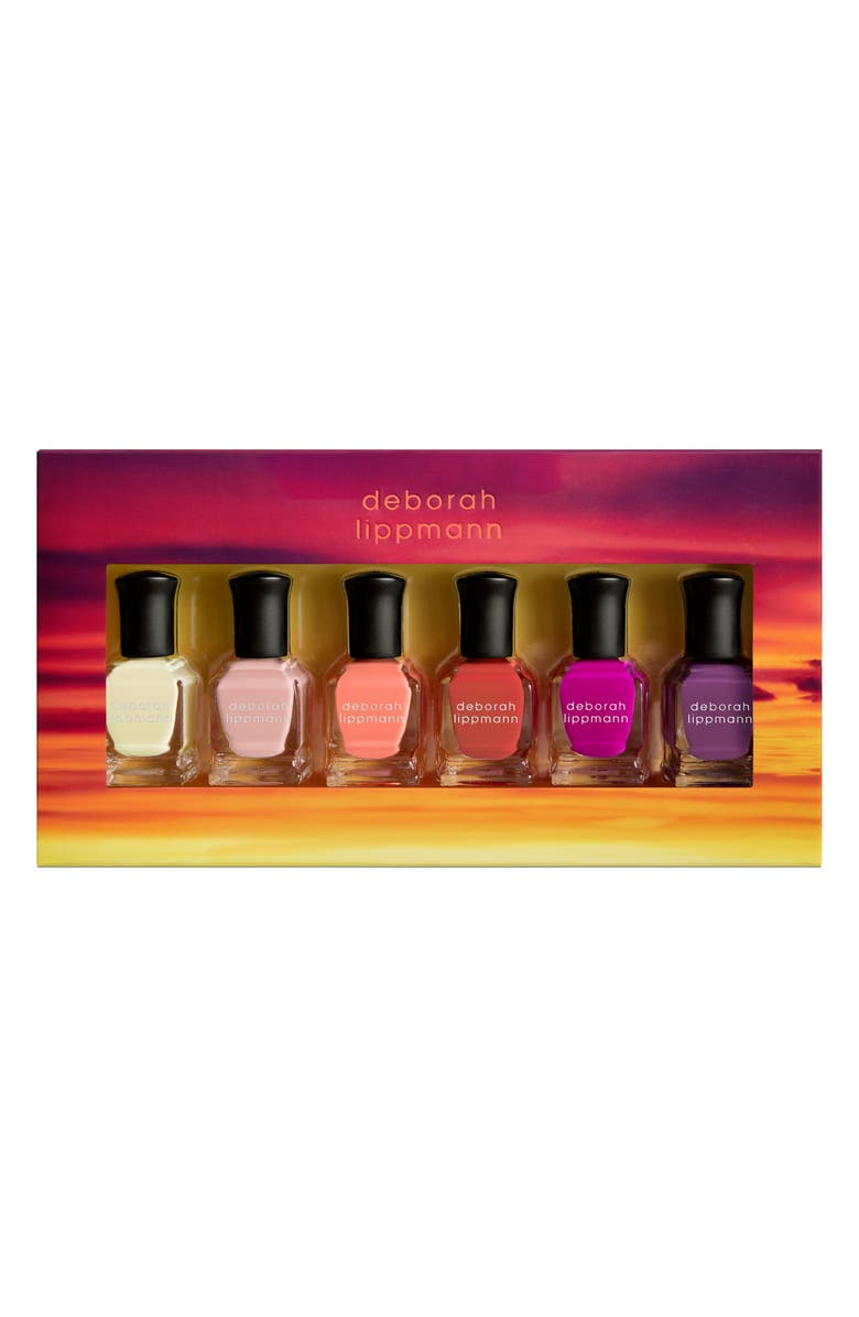 DEBORAH LIPPMANN Sunrise Sunset Gel Lab Pro Nail Color Set, Main, color, 800