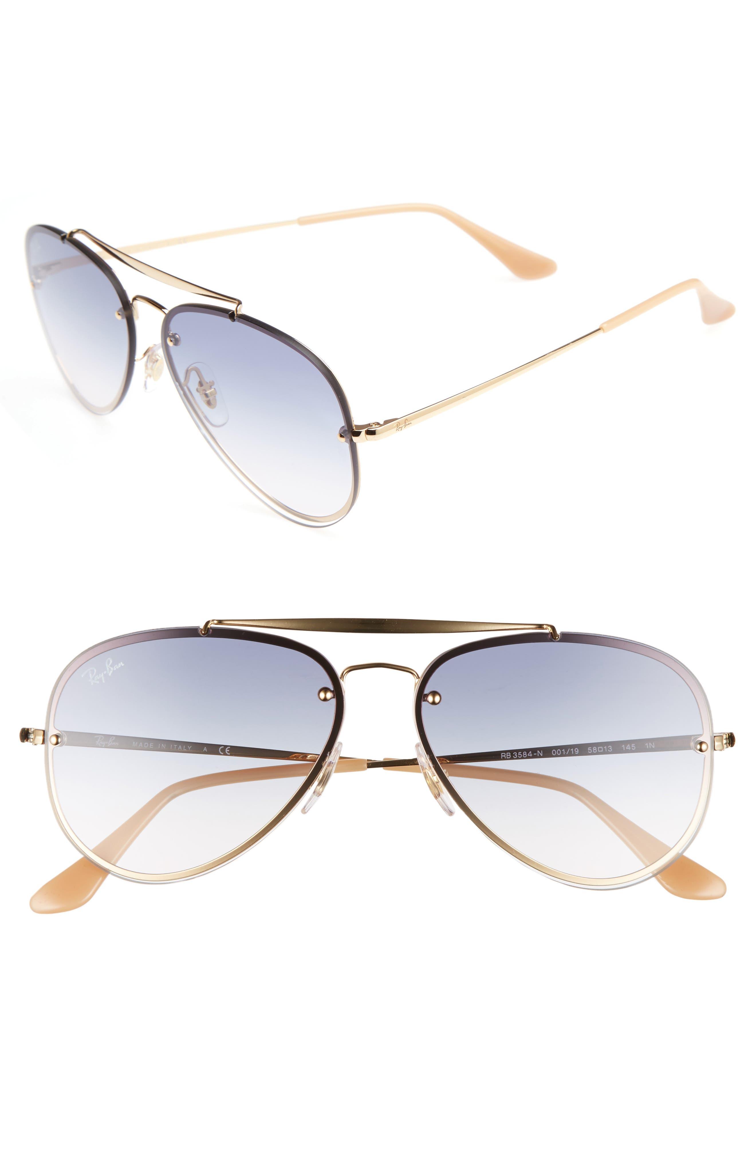 Ray-Ban 5m Aviator Sunglasses - Gold Blue