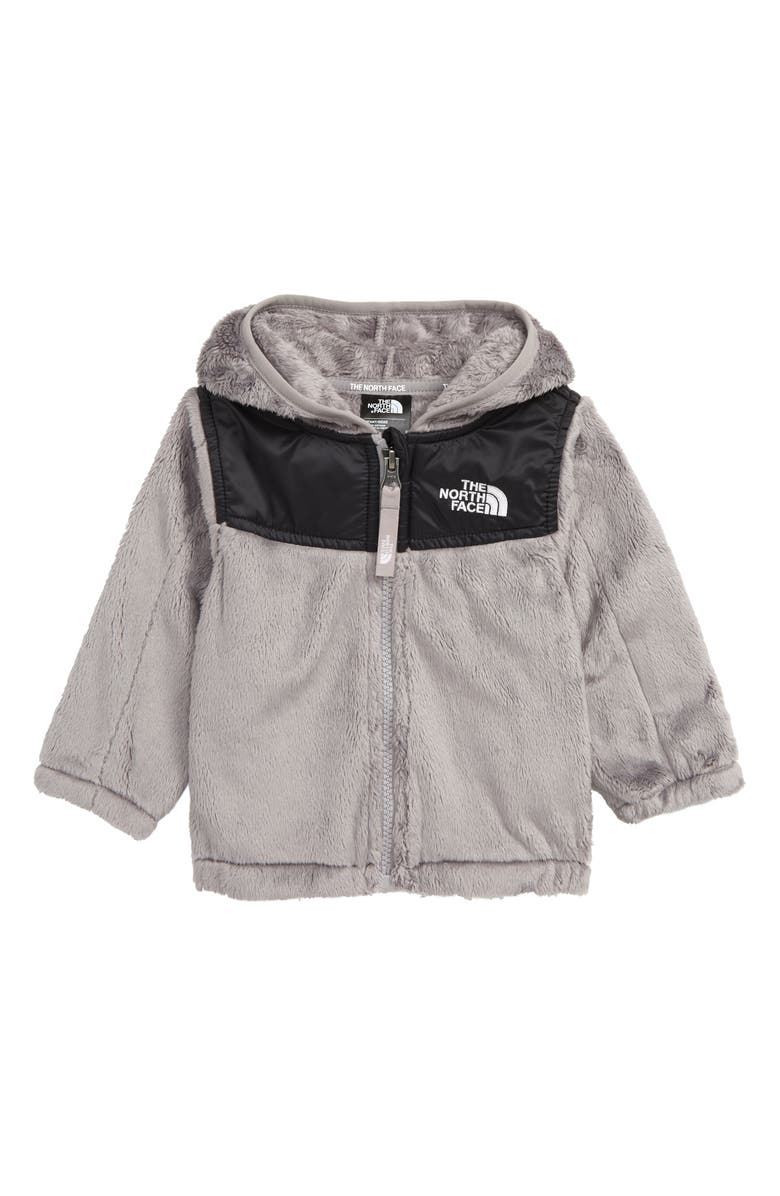 THE NORTH FACE Oso Fleece Hoodie, Main, color, METALLIC SILVER