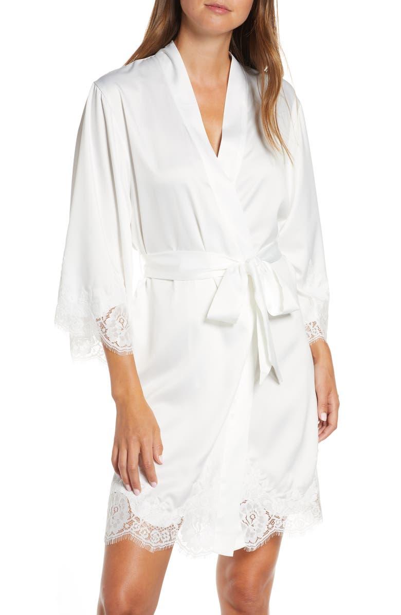 HOMEBODII Lola Short Robe, Main, color, 100