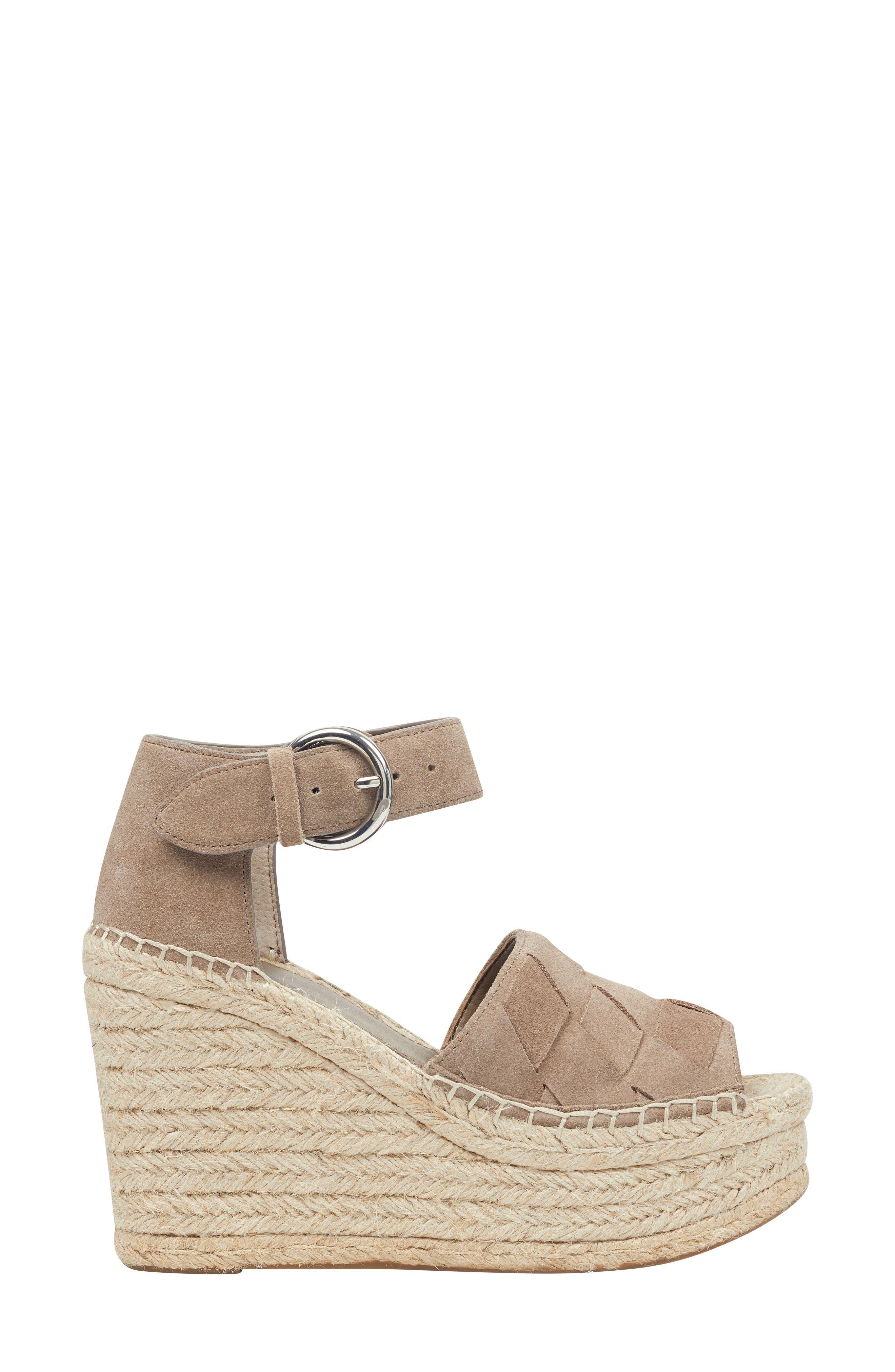 ,                             Adalla Platform Wedge Sandal,                             Alternate thumbnail 3, color,                             250