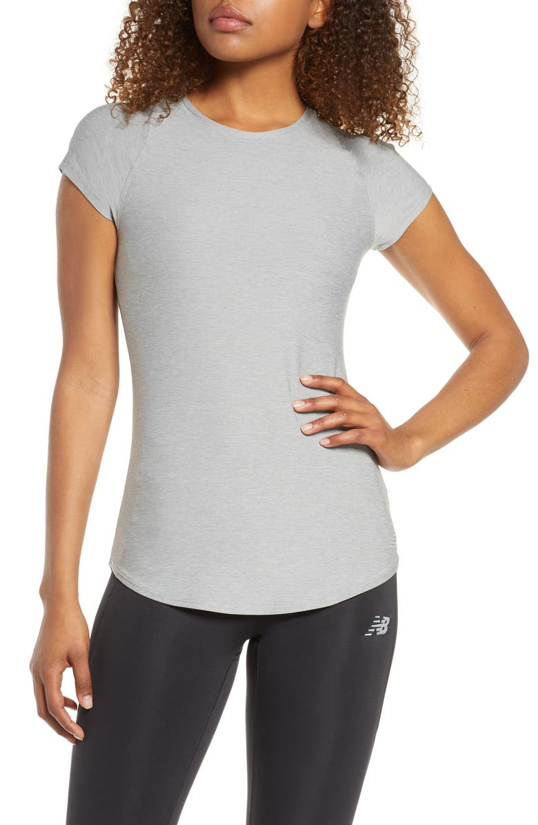 NEW BALANCE Transform Perfect T-Shirt, Main, color, AG