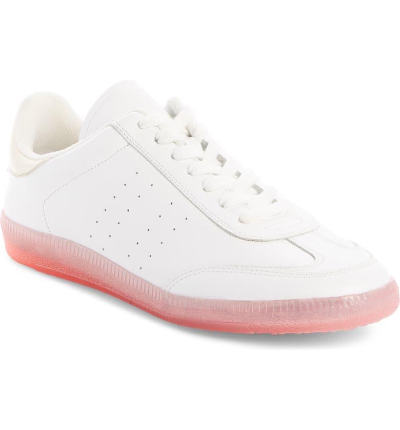 ISABEL MARANT Bryvee Low Top Sneaker, Main, color, PINK