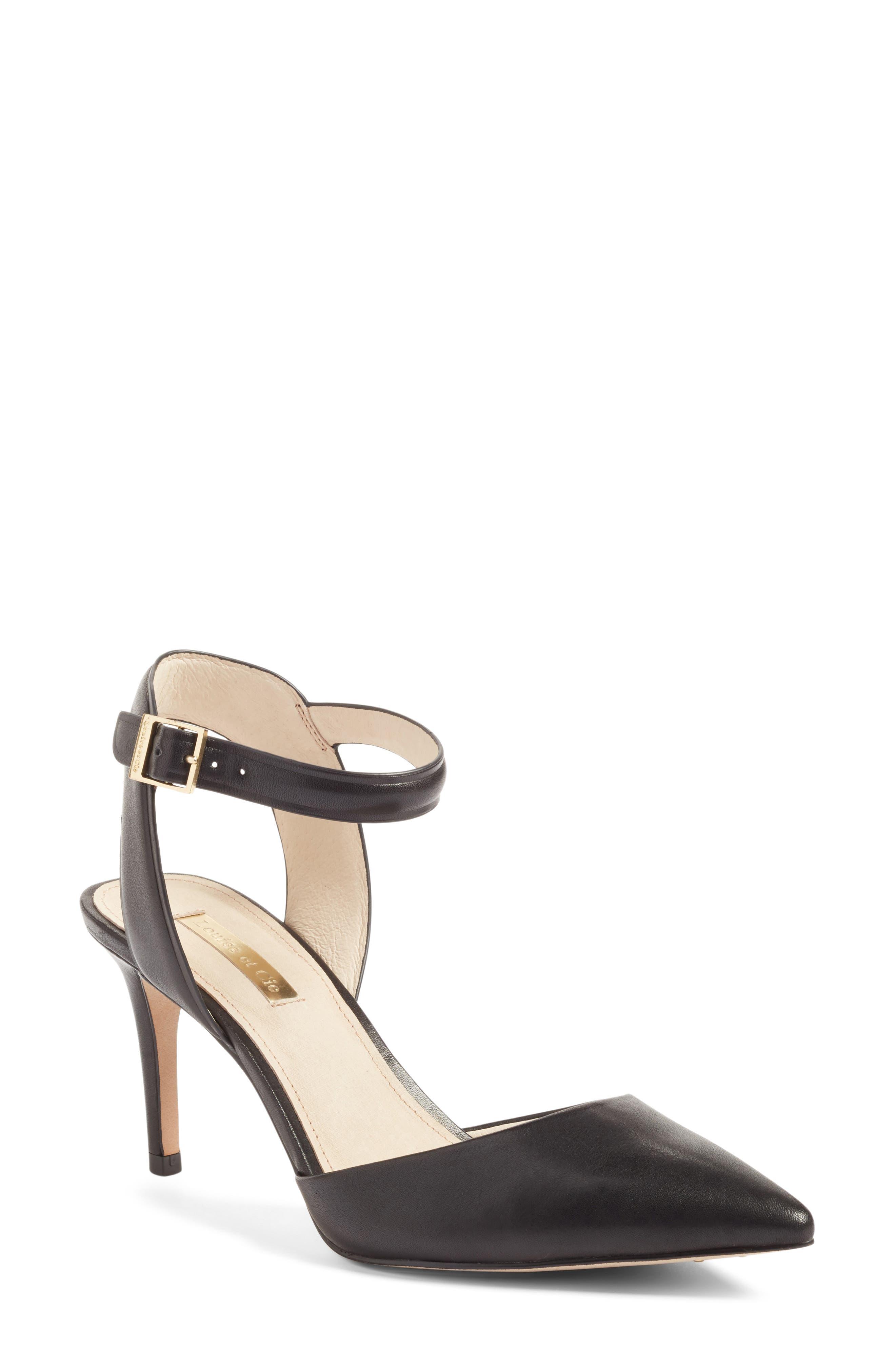 Louise Et Cie Kota Ankle Strap Pump, Black
