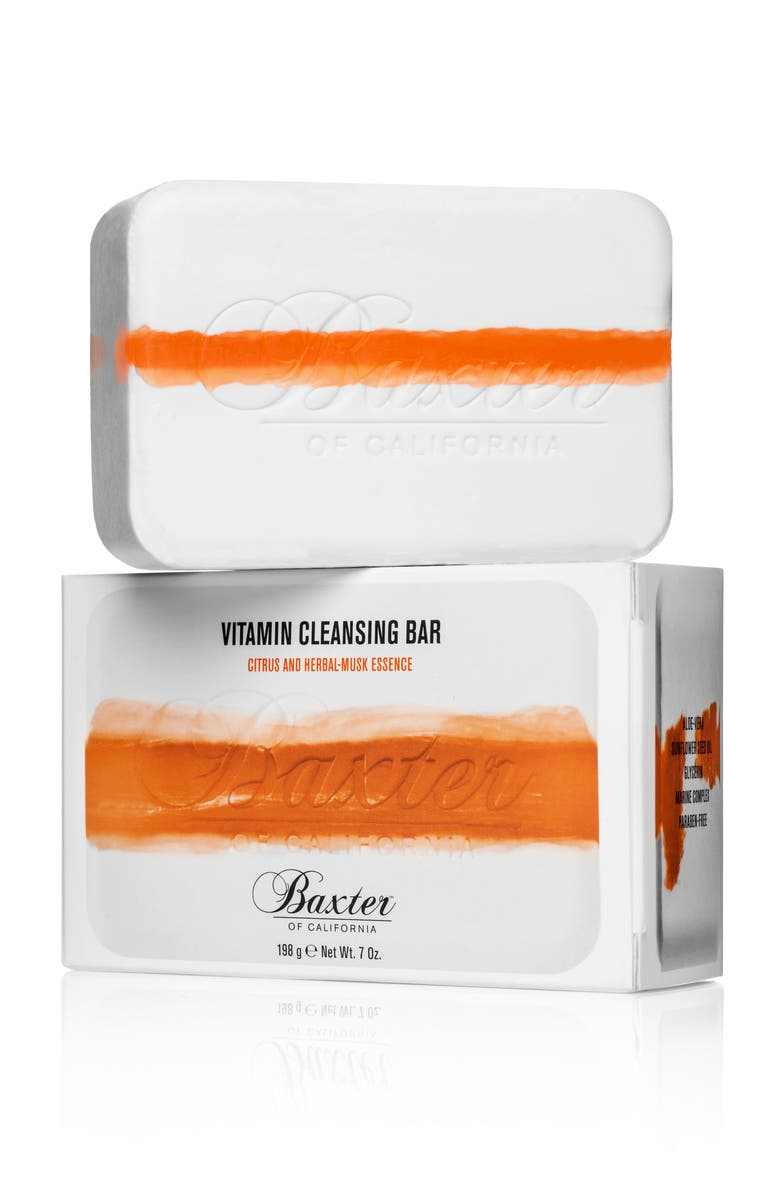 BAXTER OF CALIFORNIA Vitamin Cleansing Bar, Main, color, NO COLOR