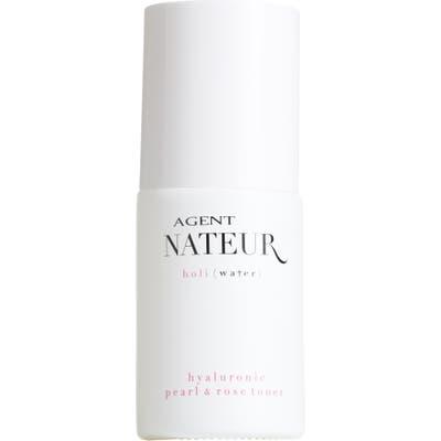 Agent Nateur Holi(Water) Hyaluroic Pearl & Rose Toner, .05 oz