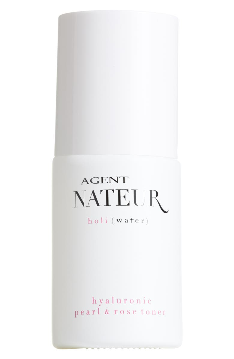 AGENT NATEUR holi(water) Hyaluroic Pearl & Rose Toner, Main, color, NO COLOR