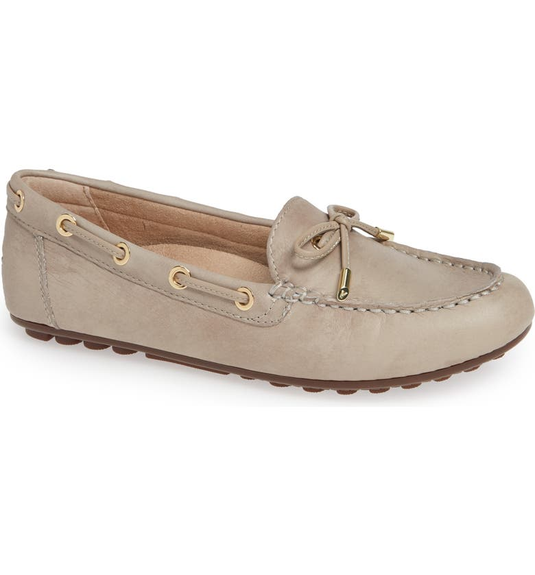 VIONIC Virginia Moccasin, Main, color, NUDE LEATHER