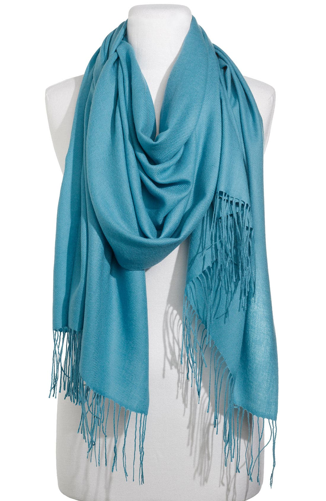 ,                             Tissue Weight Wool & Cashmere Wrap,                             Main thumbnail 77, color,                             405