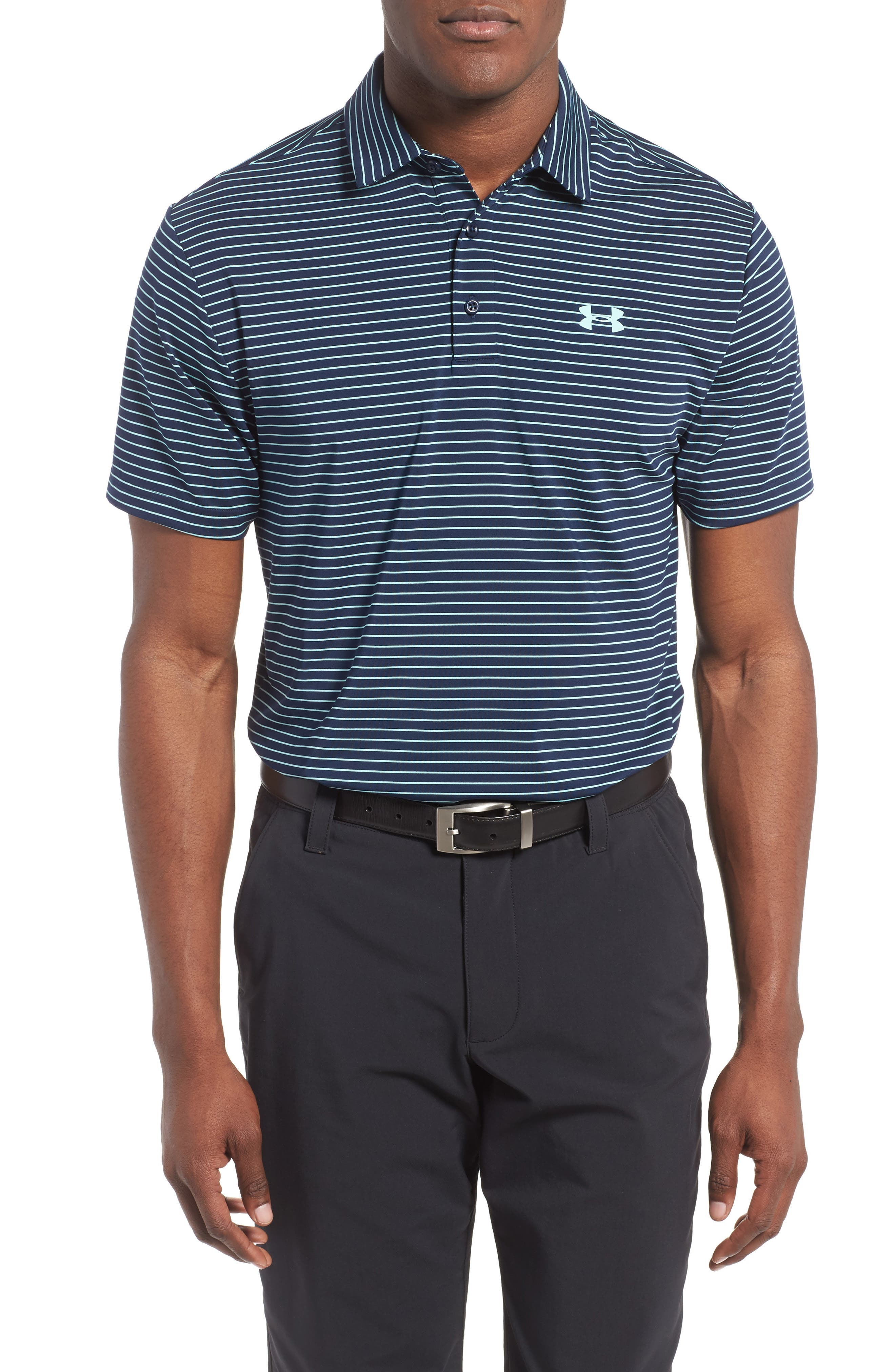 ,                             'Playoff' Loose Fit Short Sleeve Polo,                             Main thumbnail 254, color,                             425