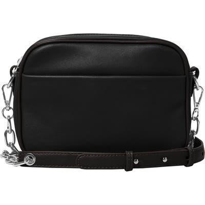 Urban Originals Mindful Vegan Leather Crossbody Bag - Black