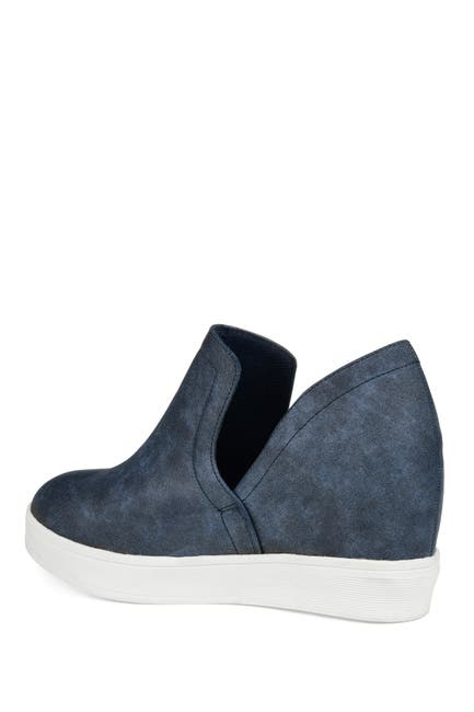 Image of JOURNEE Collection Cardi Wedge Sneaker