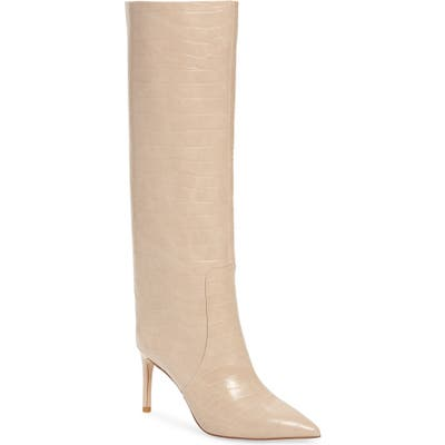 Jeffrey Campbell Arsen Pointed Toe Knee High Boot- Brown