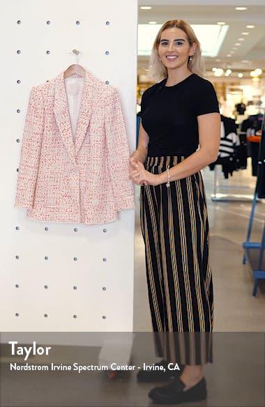 Beckie Cotton Blend Tweed Jacket, sales video thumbnail