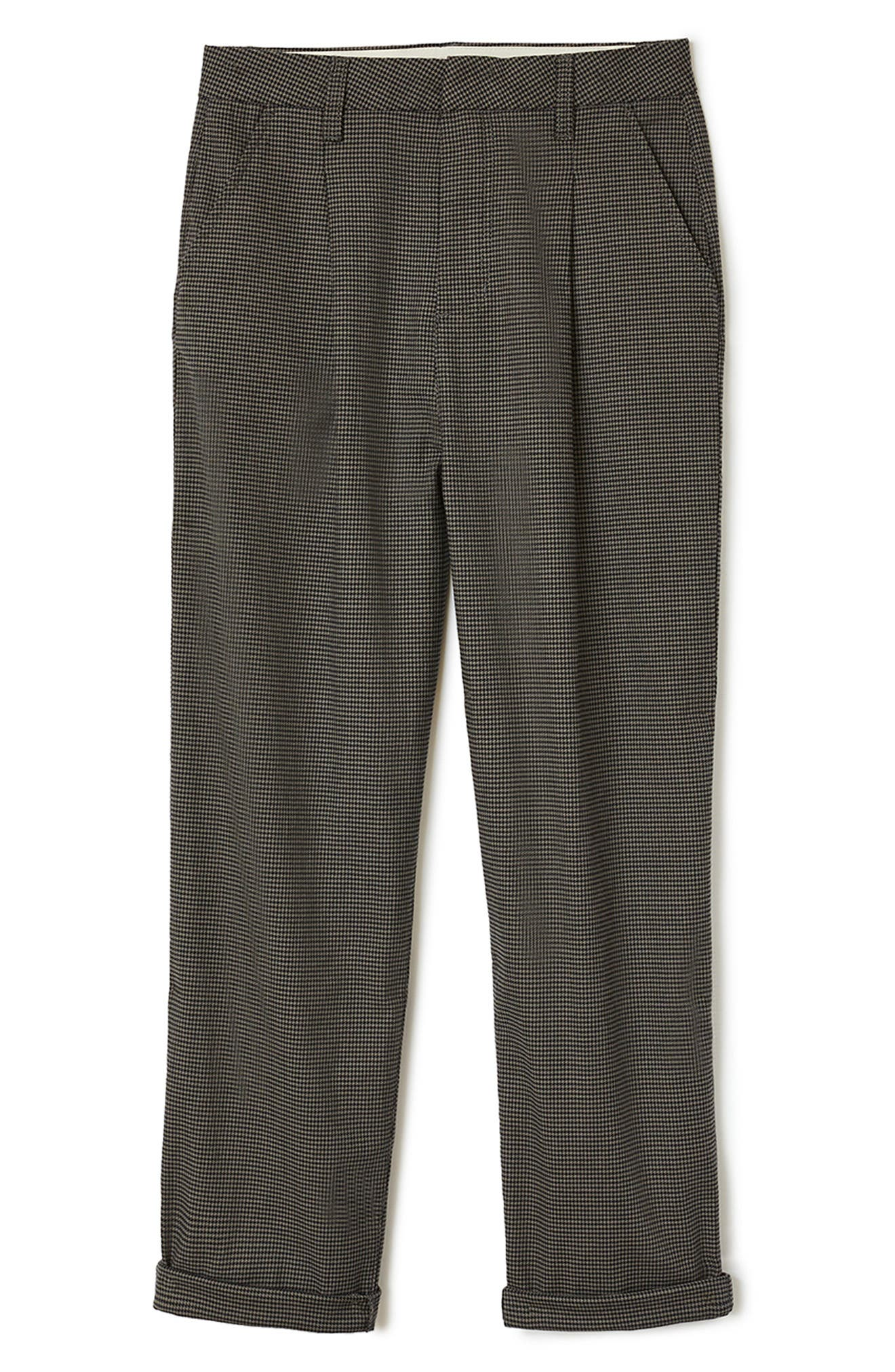 Victory High Waist Wide Leg Ankle Pants