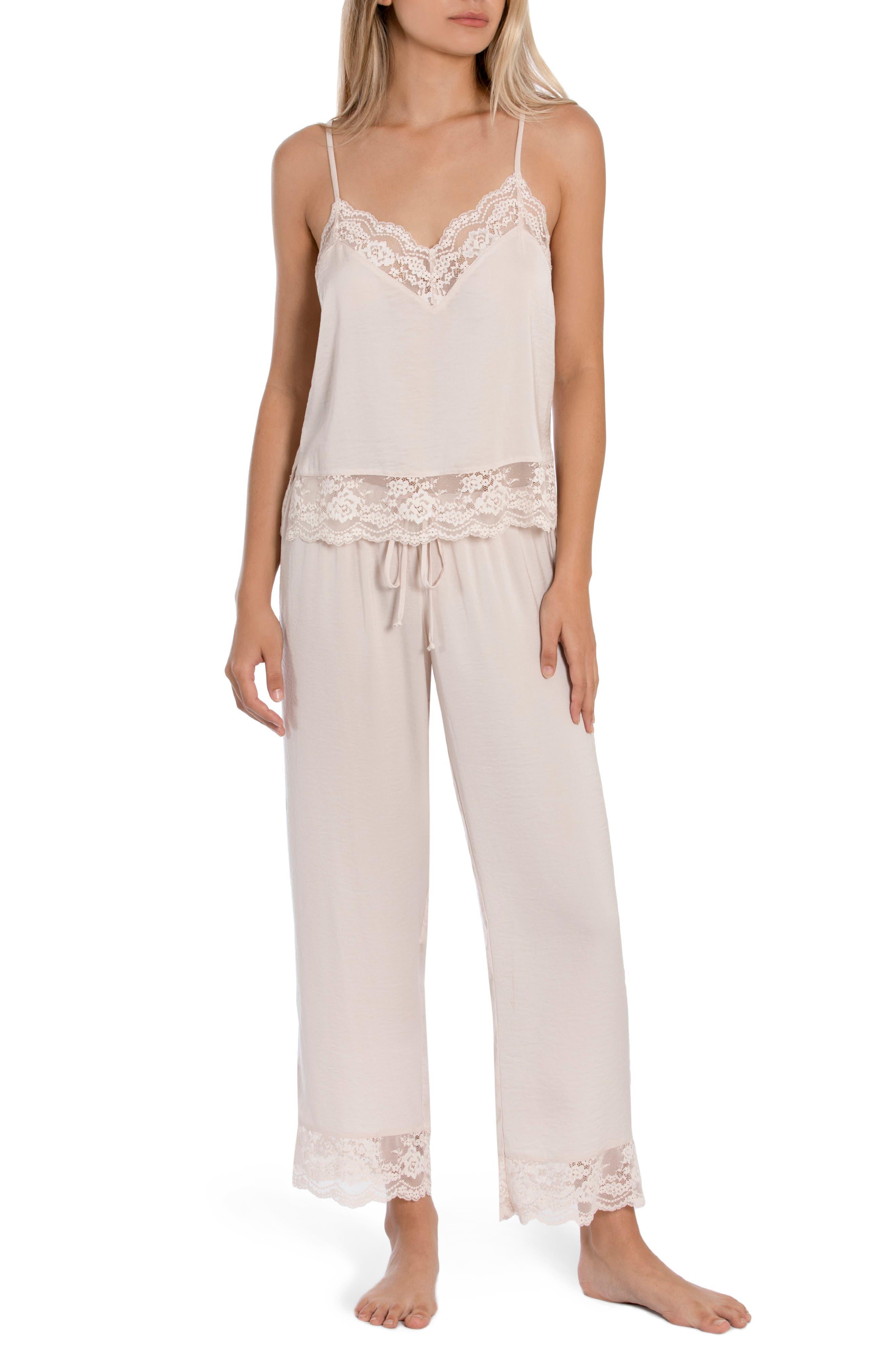 Moonlight Crop Pajamas