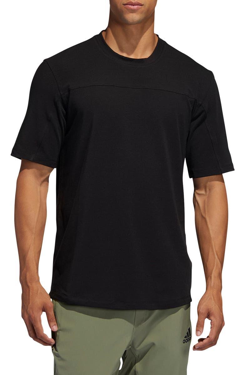 ADIDAS City Base T-Shirt, Main, color, BLACK